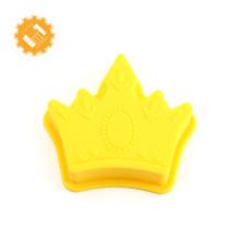 Molde colorido do bolo do silicone do produto comestível do prêmio de Guangzhou mini para a venda