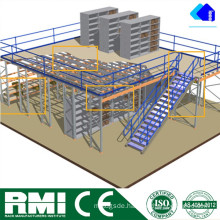 Steel Mezzanine Floor Racking