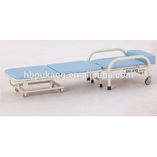 Hospital reclinable plegable acompañan a sillas