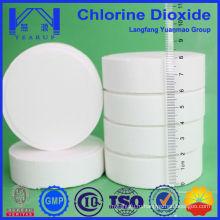 Таблетки с диоксидом хлора для безопасности систем водоподготовки