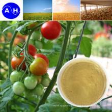 Fertilizante de quelatos de aminoácidos de manganeso con nutrientes orgánicos vegetales