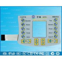 Nuevo diseño del interruptor de la membrana de DIY con la ventana del LCD
