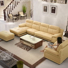 L em forma de sofá Chaise Set Sectional Sofa