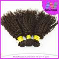 Kinky Curly brazilian italian weave human hair extension