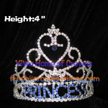 PRINCESS Heart Crystal Pageant Crowns