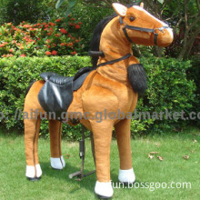 Rocking horse, Toy horse ride on by adult and kid