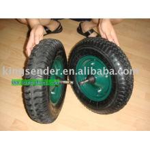 rueda de goma
