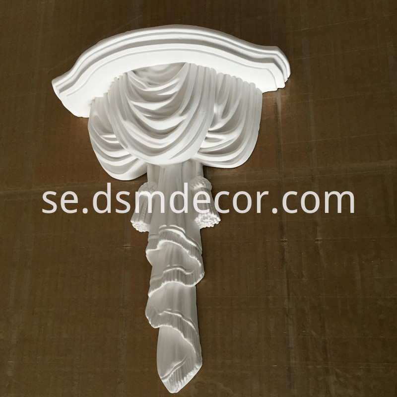 Polyurethane Decorative Wall Ornament