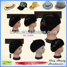 LSW04 Promotion 2014 Новый стиль зимы, сделанный из 100% шерстяной женской шляпы