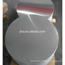 Excellente quantité Bande d'aluminium Circle Disk 3003 3004 3005