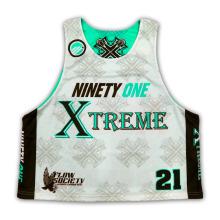 Kundenspezifische Design Team Mann Reversible Sublimation Lacrosse Uniform Jerseys