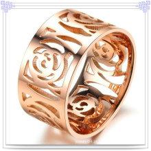 Mulheres moda anel de jóias de aço inoxidável (rs361)