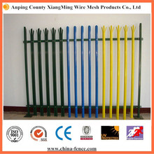 Powder Coated Steel Palisade Fence Cheap Sale