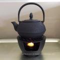 Chinesische Gusseisen Teekanne mit Heizung