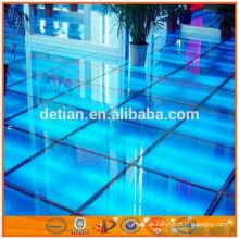 gute Qualität tragbare modulare Bühne Konzert Bühne Bodenbelag mobile Glas Bühne