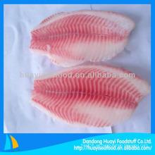 Filete de tilapia rojo congelado