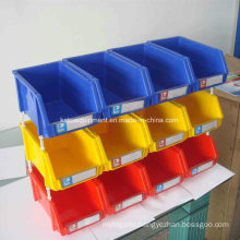 Warehouse Stackable Plastic Spare Parts Storage Box