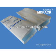 Bolsa de embalaje de alta calidad, bolsa de papel con fuelle médica, bolsa impresa de esterilización Flexo