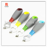 ZP-064 TPR/PP handle stainless steel bottle opener