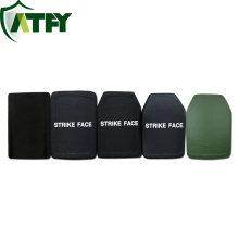Lightweight high protection ballistic armor plate
