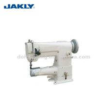 Cama de cilindro de aguja única JK341 con máquina de coser de puntada de pespunte de alimentación compuesta Unison