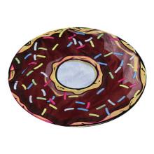 cheap printed microfiber round donut beach towel