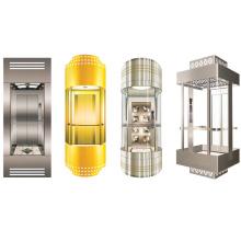 Sicherer 1600kg Glaspanoramischer Aufzug