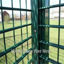 Двойные панели проволочной изгороди/портативный панели ПВХ забор