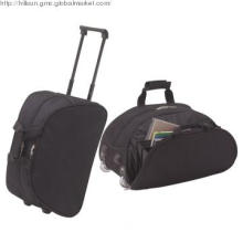600D PVC Large Travel Bag with Trolley