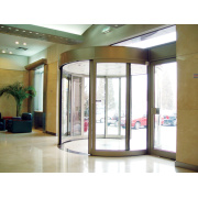 Automatic Curved Sliding Doors with Access Control System