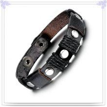 Bijoux en acier inoxydable Bijoux en cuir Bracelet en cuir (LB121)
