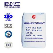China fabricante de fornecimento de alta pureza de carbonato de manganês