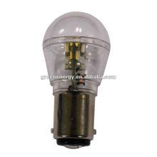 Luz de la bayoneta de SMD 10-30V BA15D LED, lámpara auto del LED