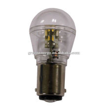 Lumière de baïonnette de SMD 10-30V BA15D LED, lampe automatique de LED