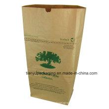 Экологичный сад отходов и листьев сумка