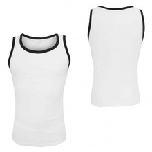 Venta al por mayor White Compression PRO Tank Top para Hombres