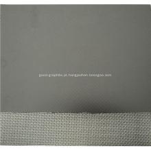 Folha de grafite flexível reforçado com alta qualidade
