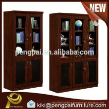 durable two doors three doors bookcase/filing cabinet/ for office