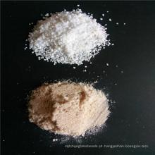 Areia de sílica / cascalho / pó para quartzo / pedra Marbl