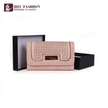 HEC Date Téléphone Portable Portefeuilles PVC PU Matériaux Femmes Bourse D'embrayage