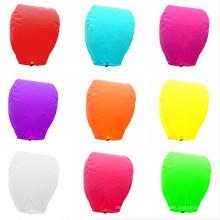 Cheap Fashion Paper flying lanternas iluminadas