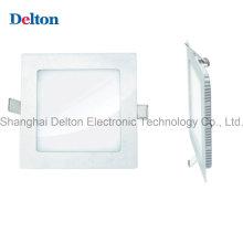 9W Cuadrado Panel LED de luz de techo (DT-PTHF-001)