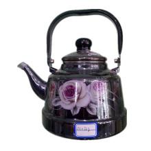 Эмалевый чайник, кухонная утварь, эмалированный чайник, стальной эмалевый чайник