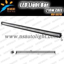 50\'\' CREE 210w hot sell car light bar led 12v Led Cree driving lights