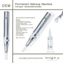 Rechargeable Skin Derma aiguilletage Auto Microneedle thérapie système (CE) Pen (ZX-1512)