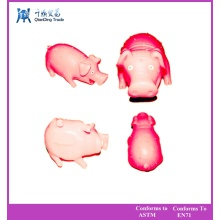 Горячие продавая игрушка любимчика свиньи латексная