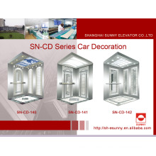 Cabina de ascensor con panel de rayita (SN-CD-140)