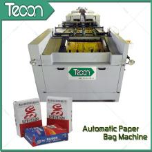Bolsa de papel que hace la máquina con 2 colores de impresión en línea