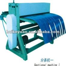 HKY Color hoja de acero automático que raja la línea