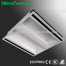 Indirect lighting with air slot 2'x2'